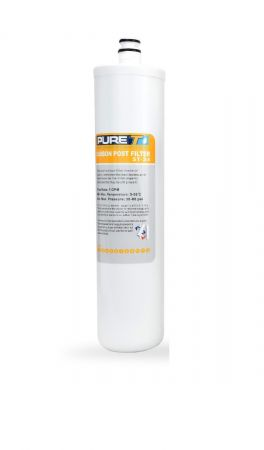 ST-34 Quick Twist Post Carbon Filter Cartridge for Odor Reduction in Water