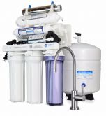 WECO HYDRA-75UVALKPMP Reverse Osmosis Drinking Water Filtration System with pH Neutralizer Cartridge, UV and Booster Pump