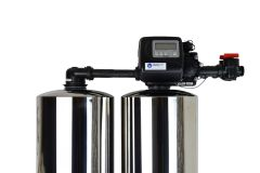 WECO 2MC-1665 High Efficiency Twin Alternating Water Softener for Water Hardness Reduction