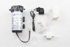 WECO FC-1400 Reverse Osmosis Booster Pump Kit with Pressure Switch, Transformer and Auto Shutoff Valve (50 GPD)