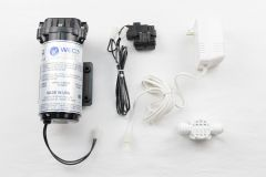 WECO FC-3800 Reverse Osmosis Booster Pump Kit with Pressure Switch, Transformer and Auto Shutoff Valve (100 GPD)