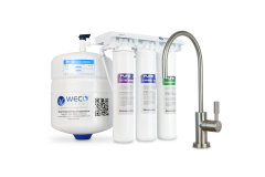 WECO GMQ-50 Compact EZ Twist Reverse Osmosis Water Purification System