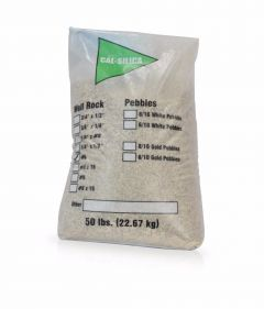 Bag  of 1/4 X 1/8 Gravel Under Bedding for Water Softeners & Whole House Filters- 50 Lbs