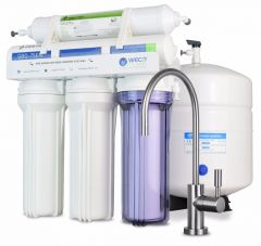 WECO VGRO-75GS-215CB5 High Efficiency Reverse Osmosis Drinking Water Filtration System