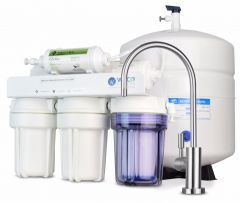 WECO MINI-150ALK Compact Undersink Reverse Osmosis Water Filtration System with pH Neutralizer Filter
