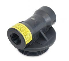 "990S 1"" FNPT Inlet Outlet Head for 1.050"" Distributor (D1226)"