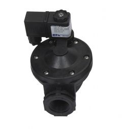 "AXEON® GC Series Solenoid Valve Kit - 3/4"" FNPT, 24VAC, W/DIN AND 3 METER CORD,"