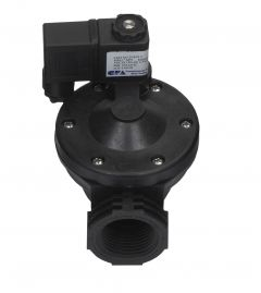 """AXEON® GC Series Solenoid Valve Kit - 1"""" FNPT, 220V, W/DIN AND 3 METER CORD"""