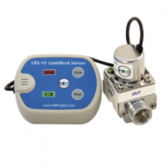 HM Digital LBS-10 Leak Detector with Auto Shutoff Valve and Audible Alarm