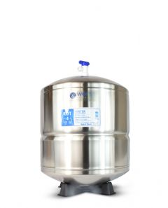Aquasky Plus ROT-4 Stainless Steel Reverse Osmosis Water Storage Tank - Total Capacity 4.5 Gal & appx. 2.8 Gal Usable Capacity