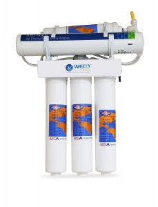 WECO VGRO-50Q Reverse Osmosis Drinking Water Filtration System - Made in U.S.A.