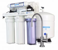WECO HYDRA-75PMP Reverse Osmosis Drinking Water Filtration System with Booster Pump