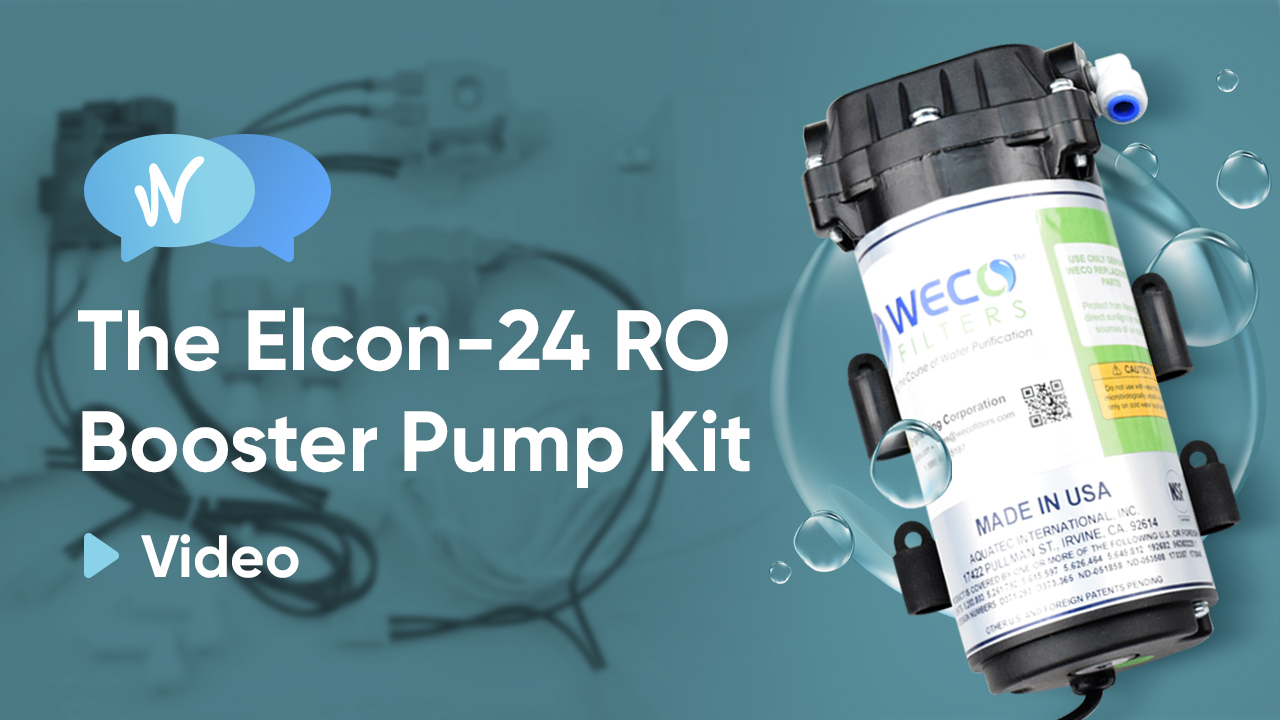 Installing the ELCON-24 RO Booster Pump Kit - Video
