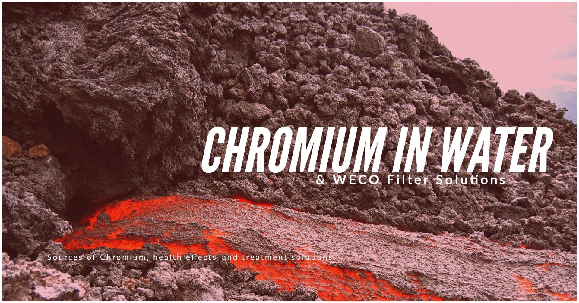 Chromium in Water