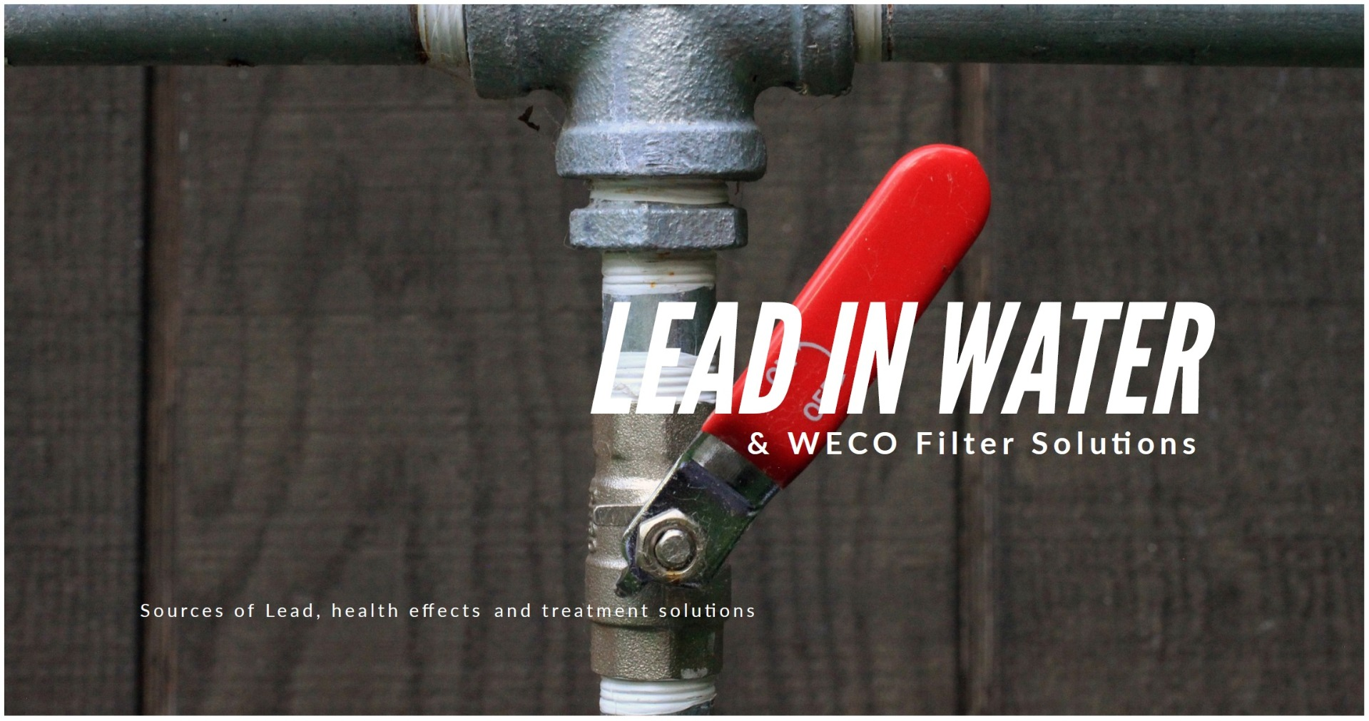 Lead in Water