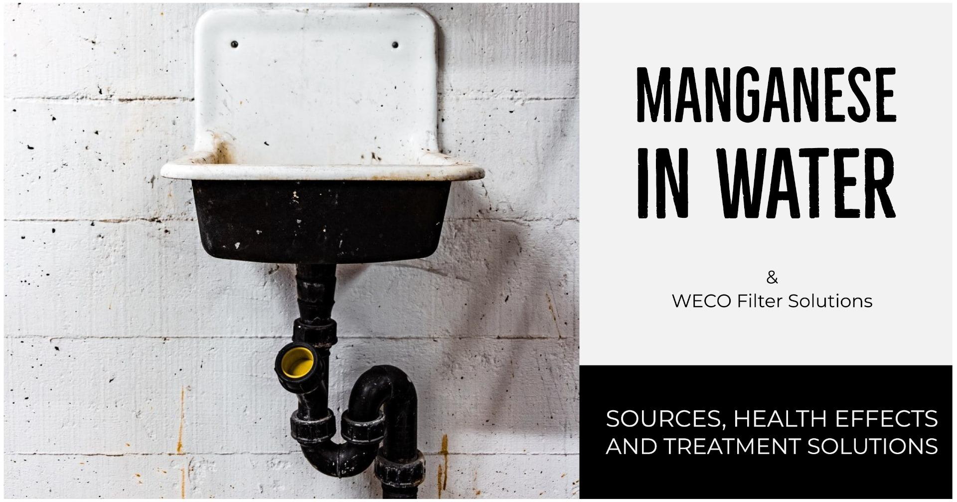 Manganese in Water