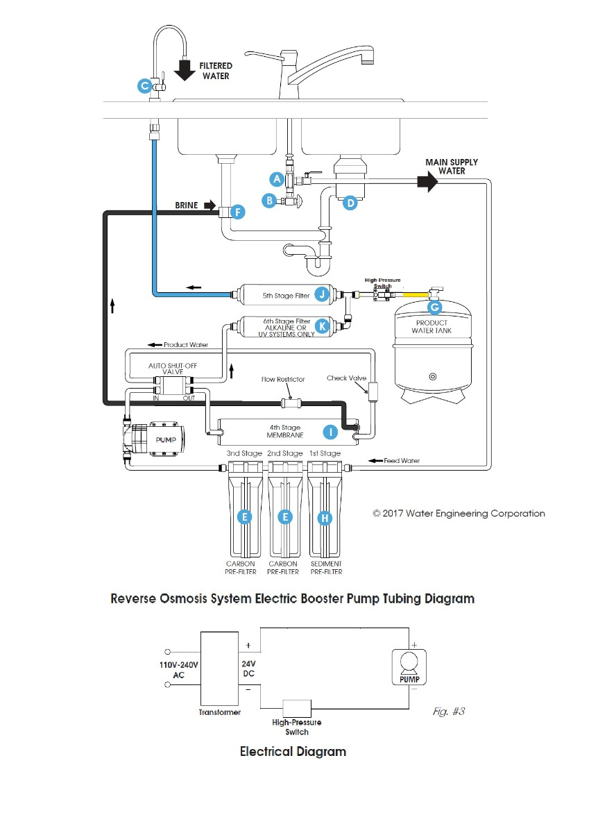 weco booster pump installation diagram 1