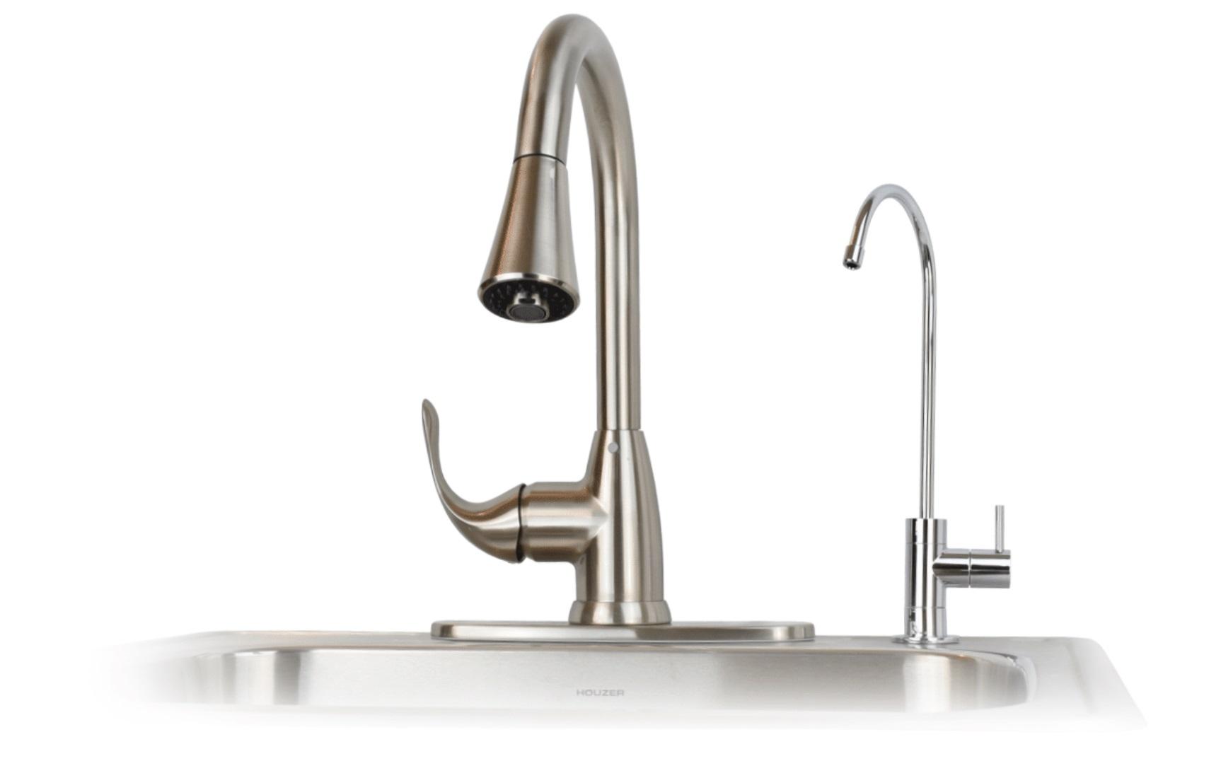 RO faucet flow rate