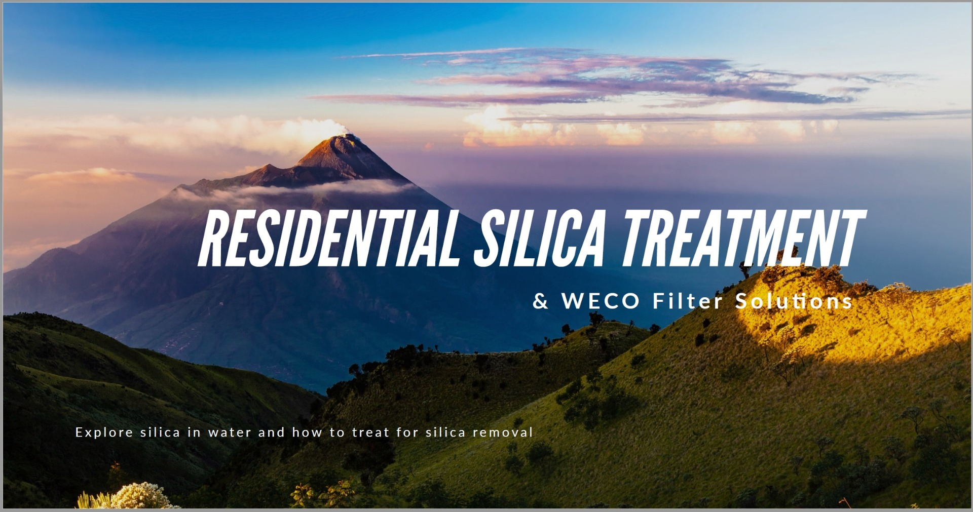 Resedential Silica Treatment