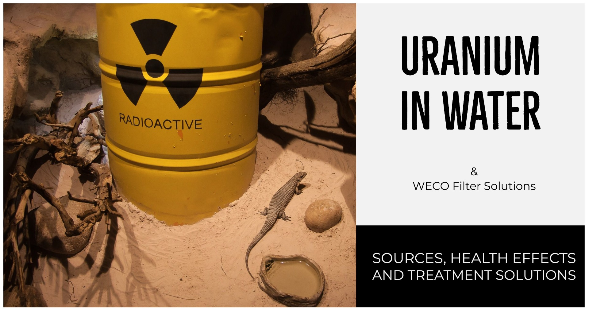 Uranium in water